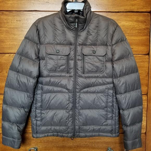c6f19128a New Michael Kors Men's gray packable down jacket NWT